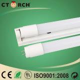 Câmara de ar Nano 22W 130lm/W do plástico T8 de Ctorch