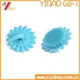 Silicone azul Bush macio da limpeza da cor, escova do banho do silicone (XY-BS-130)