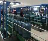 12.5kg/15kg het Testen van de Lekkage van de Lucht van de Lopende band van de Gasfles van LPG Machine
