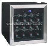 refrigerador de vino termoeléctrico de la aprobación de 16bottles Ce/CB/RoHS