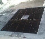 Polier-/natürliches absolute schwarze Granit-Fliese China-Shan XI für Bodenbelag-/Wand-Umhüllung