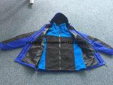 Куртка лихорадки, отделяемая ватка, 3 в 1 куртке
