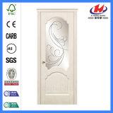 Прокатанная составная деревянная дверь Veneer (JHK-008-2)