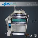 Máquina cortando do rolo do papel de etiqueta com função de cobertura