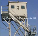 Selbsttragender Beobachtungs-Gitter-Stahl-Aufsatz