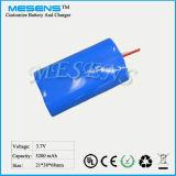 3.7V 5200mAh 18650 erhitzte intelligenter Li- Ionenbatterie-Satz für elektrische Heizung/warme Kleidung