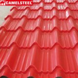 Het kleur Met een laag bedekte Blad van het Dakwerk van het Metaal PPGI Tegel Golf