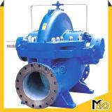 Pompe à eau fendue agricole de caisse de moteur diesel d'irrigation