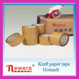 Cinta adhesiva superior del papel de Brown Kraft