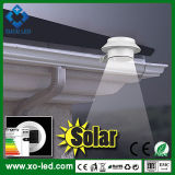 Jardín impermeable Lights Cool White/Warm White Roof Wall Lamp de Outdoor Solar Powered 3X F10 LED Light Fence Gutter