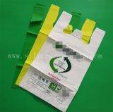 Le sac de transporteur biodégradable Bio-Basé, réutilisable, réutilisent, constructeur respectueux de l'environnement et professionnel