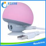 Haut-parleur stéréo imperméable à l'eau de Bluetooth de mini de Bluetooth champignon de couche portatif sans fil de haut-parleur