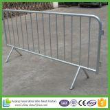 Barrières détachables de contrôle de foule en métal de patte de qualité (certificat d'OIN 9001 d'usine)