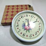 Часы стены 12 товаров домашнего украшения дюйма пластичные домашних, часы искусствоа, часы подарка