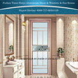 Portes en aluminium de douche de type moderne