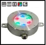 작은 라운드 RGB LED 수중 샘 빛
