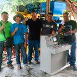 Machine utilisée de bloc à vendre la machine de fabrication de brique utilisée par Qtj4-25c
