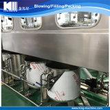 Ligne recouvrante remplissante de lavage de bouteille d'eau de 5 gallons dans un élément