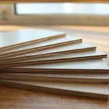 Varia sola madera contrachapada laminada melamina echada a un lado doble coloreada