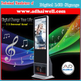 Beste Oplossing voor Digitale Signage BedrijfsTFT LCD van het Scherm met de Slimme Poolse en Schoonmakende Machine van de Schoen