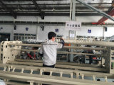 編むことのための高速織物のキルトにする機械