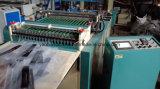 Plastikfilm-Reißverschluss-Beutel, der Maschinen-Export zu Uzbekistan bildet