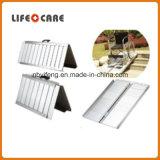 Rampa elétrica de alumínio de pouco peso da cadeira de rodas