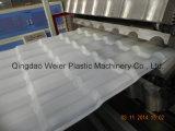 PVC에 의하여 윤이 나는 파 지붕 생산 라인 밀어남 선