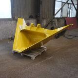 Cubeta trapezoidalmente da aplicação da vala para a máquina escavadora, cubetas de escavação da vala de V