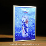 Mídia Snap alumínio quadro LED Super Slim Light Box