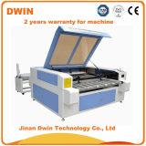 machine de découpage alimentante automatique du laser 100W pour le cuir de tissu