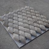 よいデザイン白い大理石3Dの菱形の大理石の石造りのモザイク・タイル