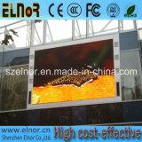 Placa de anúncio impermeável do diodo emissor de luz da definição P8 elevada ao ar livre