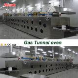 Four tunnel automatique de traitement au four de qualité pour la chaîne de production d'usine de nourriture Bds-14q