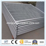 Preiswerter temporärer Zaun, temporäre Metallzaun-Panels, entfernbarer Zaun