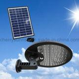 56 lampe imperméable à l'eau extérieure de jardin de lumière de mur de détecteur de mouvement de l'énergie solaire PIR de DEL