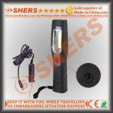 Base Handheld recarregável de Magetic da luz da inspeção do diodo emissor de luz da ESPIGA 3W que gira o corpo claro