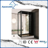 Sitio de ducha del cuarto de baño y recinto simples de cristal de la ducha (AS-D04)