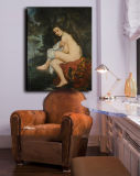 Pittura a olio diretta della decorazione 100%Handmade della fabbrica su tela di canapa, sorpresa