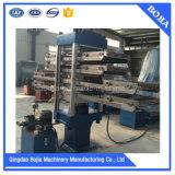 機械、機械を治すゴム製床タイルを作るゴム製タイル