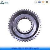 カスタマイズされた炭素鋼の鋳造の機械装置部品CNCの機械化