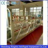 Gondole suspendue de construction de berceau de nettoyage de série de Zlp de plate-forme d'accès