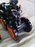 Мембранный клапан фланца чугуна BS стальной (картина плотины)