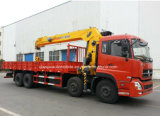 270hp 8x4 hing Hochleistungslkw des lastwagen-14t mit Kran ein