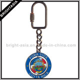Anel chave engraçado de Roating da promoção que mede a corrente chave (BYH-10868)