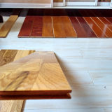Parement en bois parquet artificiel naturel huilé