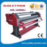 Máquina que lamina del rodillo 1600m m caliente de gran tamaño de Audley con el cortador Adl-1600h6+