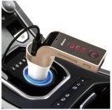 G7 4 des Auto-Carg7 in 1 drahtlosem des Bluetooth Übermittler-Modulator-A2dp Musik-Freisprechspieler Auto-Installationssatz statischer Ableiterusb-LCD G7 + Zusatz