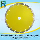 "O diamante pequeno de Romatools 4 "" viu as lâminas dos segmentos das lâminas"