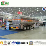 트럭 탱크 트레일러가 주문을 받아서 만들어진 기름 디젤 엔진 수송 연료 유조선에 의하여 반 값을 매긴다